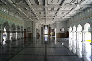 Zahir Mosque - Zahir Mosque prayer hall