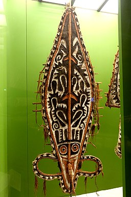 Mask, Elema, New Guinea, 1895 - Südseeabteilung - Ethnological Museum, Berlin - DSC00927