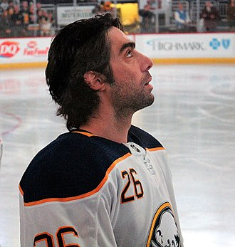 Matt Moulson - Moulson with the Sabres in 2017
