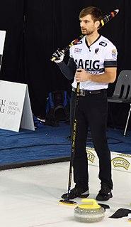 Matt Wozniak Canadian curler