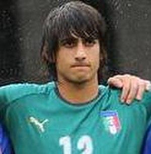 Mattia Perin - Perin with Italy U19 in 2010.