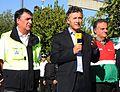 Mauricio Macri felicitó a los equipos de emergencia que trabajaron en la tragedia de Once (6938684705).jpg