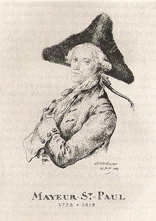 Mayeur de Saint-Paul French author