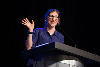 Sixth College - Mayim Bialik during her visit to Sixth College in 2015.