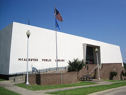 McAlester Public Library McAlesterLibraryOK.jpg