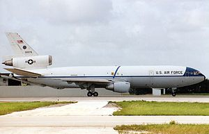 47th Air Division - KC-10A Extender of the division's 22d Bombardment Wing