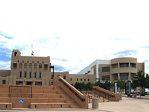 McKinley County Courthouse in Gallup