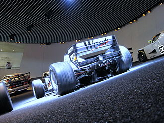 McLaren MP4/13 - Rear view of the MP4-13