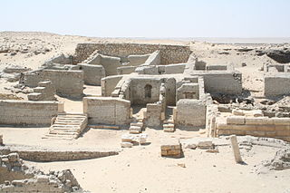 archaeological site in the Egyptian depression of el-Faiyum