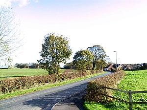 Medlar with Wesham - Mowbreck Lane, leading to Treales