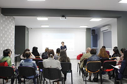 Meeting with GLAM institutions at Wikimedia Armenia 01.jpg