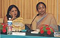 Meira Kumar presiding over the meeting of Committee constituted to develop ways and means to curb offences of untouchability and atrocities against SCs & STs, in New Delhi on September 18, 2006.jpg