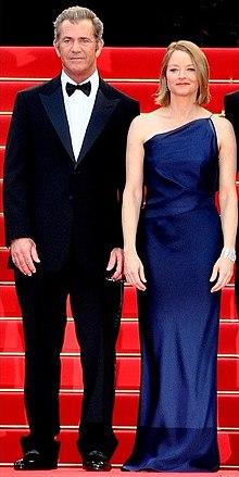 Jodie Foster e Mel Gibson al Festival di Cannes 2011
