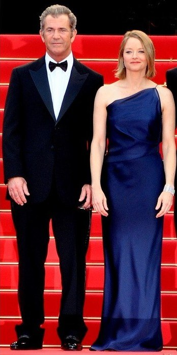 Mel Gibson Jodie Foster Cannes 2011