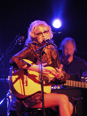 Disability in the arts - Singer Melody Gardot used music as therapy to improve her memory while recovering from a traumatic brain injury. She later became a top-selling jazz vocalist, and now tours internationally.