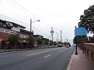 Grant Park, Atlanta - The Grant Park commercial district, near Oakland Cemetery