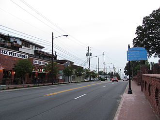 Grant Park, Atlanta - The Grant Park commercial district, near Oakland Cemetery
