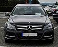 Mercedes-Benz C 180 BlueEFFICIENCY Coupé (C 204) – Frontansicht, 10. Juli 2011, Velbert.jpg