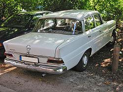 W110 200D Fintail sedan