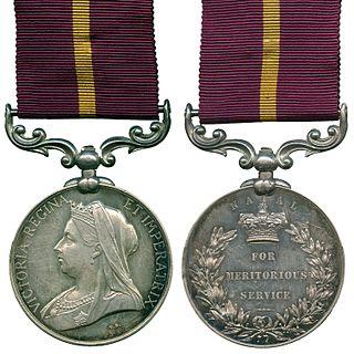 Meritorious Service Medal (Natal)