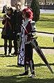 Met zwaard en even op de foto, Elfia 2013 Haarzuilens (8675720952).jpg