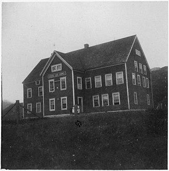 Jesse Lee Home for Children - The original Jesse Lee Home, Unalaska, 1901