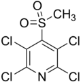 Methylsulfonyl tetrachloro pyridine.png