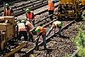 Metro-North Bronx track work continues (9517202857).jpg
