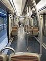 Metro train (interior) (29679207783).jpg
