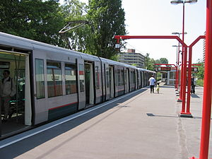 Binnenhof metro station - Image: Metrostation Binnenhof 1