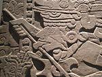 Mexico - Museo de antropologia - Tire-langue.JPG