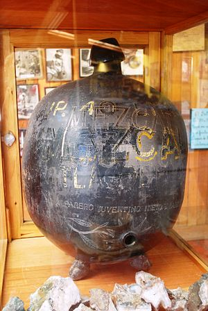 Mezcal - A cantaro jar, made from barro negro pottery, used for serving mezcal