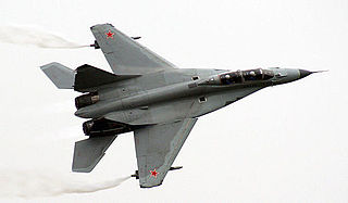 Mikoyan MiG-35 Strike fighter aircraft
