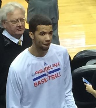2013 NBA draft - Michael Carter-Williams was selected 11th by the Philadelphia 76ers.
