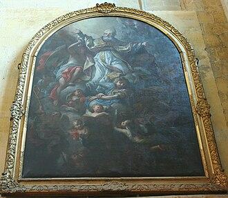 Église Saint-Jean-de-Malte - Michel Serre: Apotheosis of St Augustine