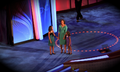 Michelle Obama and daughters at 2008 DNC (2893907573).png
