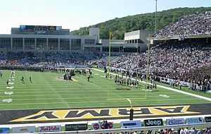 Michie Stadium - Image: Michie Stadium Team Entrance