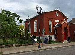 Michigan Street Baptist Church - Buffalo NY - May 2015.JPG