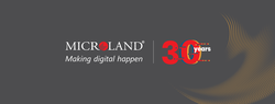 Microland 30-year commemorative logo .png