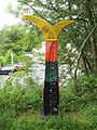 Milepost, National Cycle Route 75 - geograph.org.uk - 1561269.jpg
