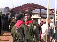 Miliziani dell'etnia Pao