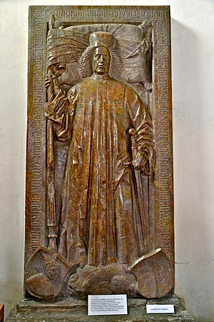 Princes of the Holy Roman Empire - Image: Millstatt Pfarrkirche Christus Grabmal Johann Siebenhirter 16082014 681