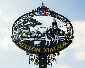 Milton Malsor Village sign.jpg