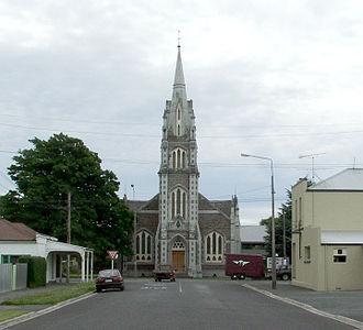 Clutha District - Tokomairiro Presbyterian Church, Milton