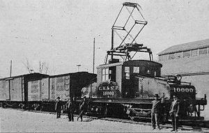 Milwaukee Road class ES-1 - Image: Milwaukee ES 1