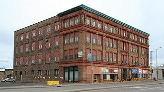 Superior, Wisconsin - Minnesota Block, a.k.a. Board of Trade Building, built 1892
