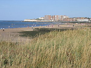 Birchington-on-Sea - Image: Minnis Bay