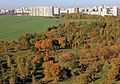 Minsk. View to Apple orchard and field in South-West microraion.jpg
