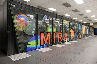 IBM Blue Gene - The IBM Blue Gene/Q installed at Argonne National Laboratory, near Chicago, Illinois.