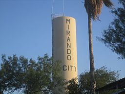 Mirando City, TX, water tower IMG 3423.JPG
